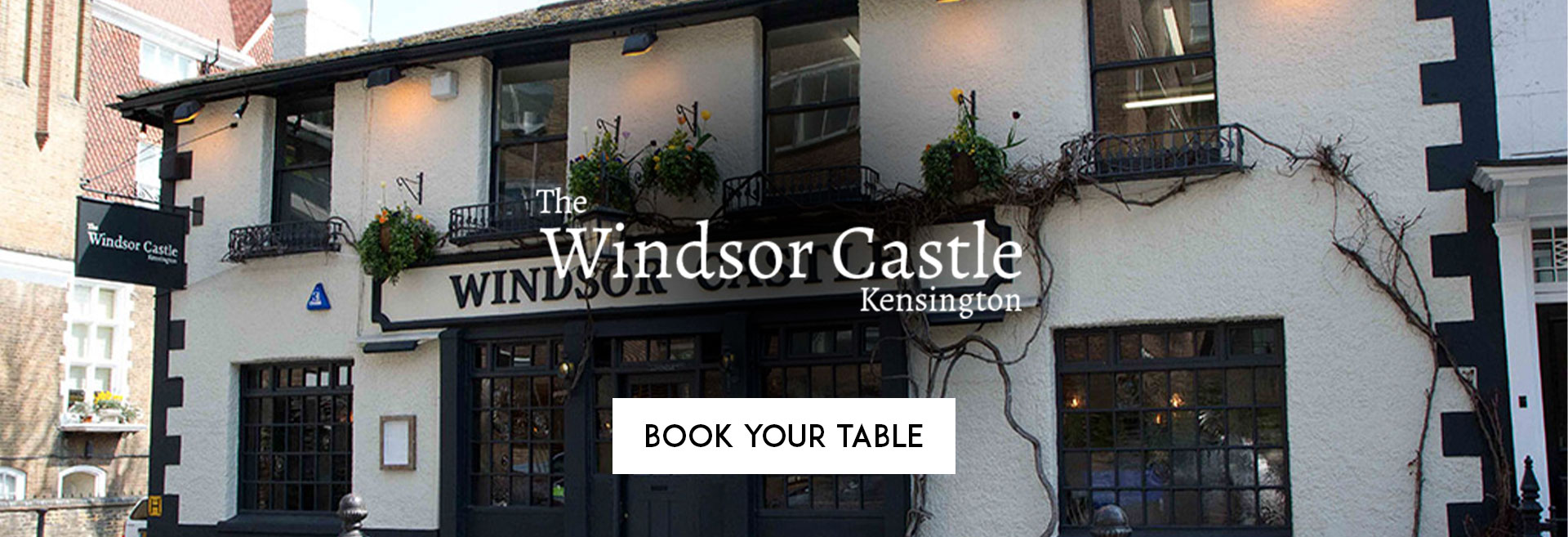 Book Your Table The Windsor Castle